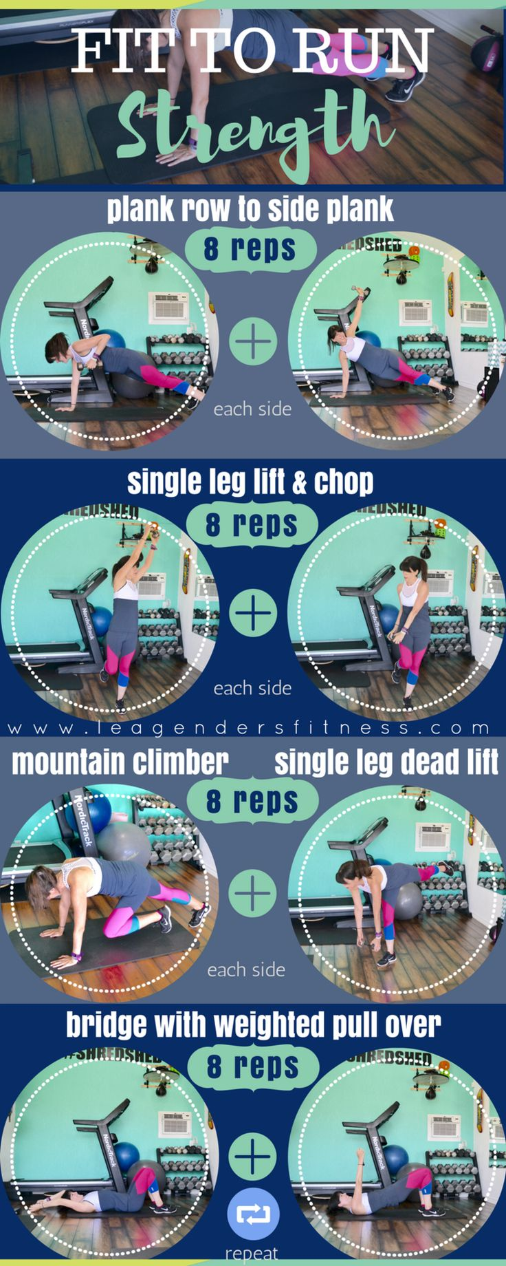 Fit To Run: Month 2 Strength for Runners Workout — Lea Genders Fitness