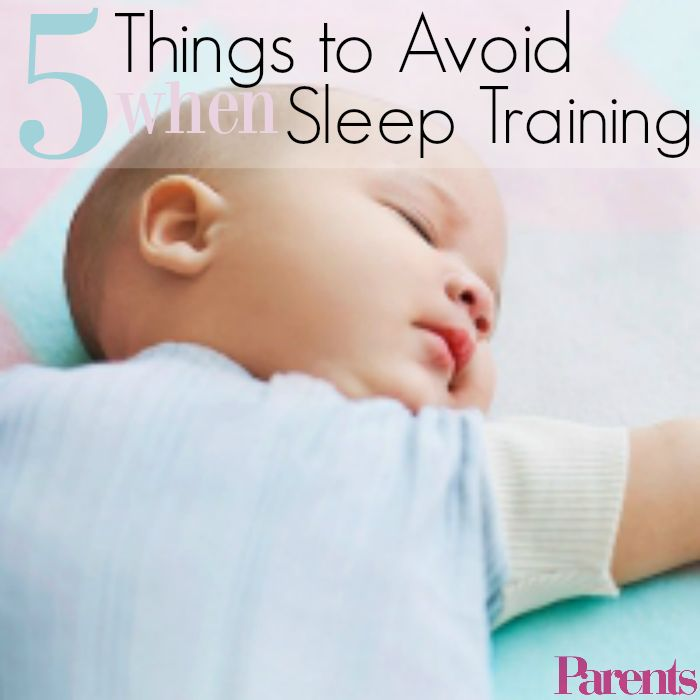 5 Things To Avoid When Sleep Training Your Baby