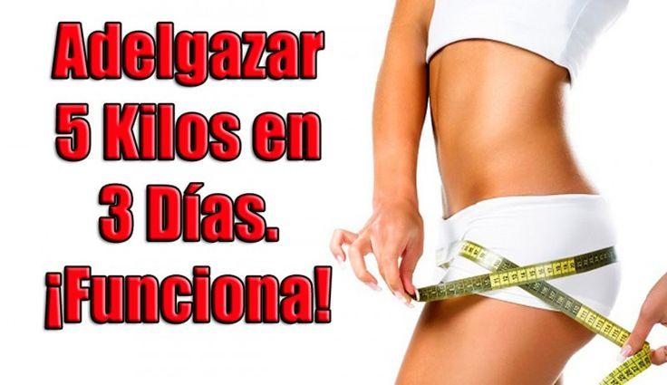 5 #Kilos menos con la #dieta de los 3 días ¡Rápida y efectiva!