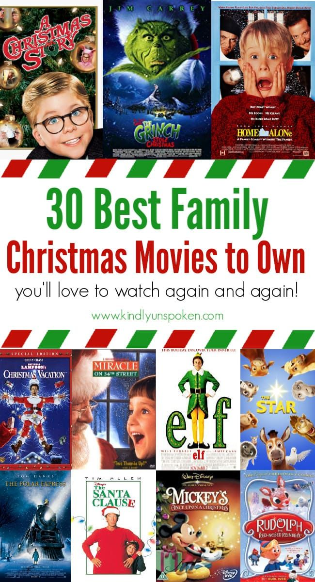 30 Best Family Christmas Movies To Own Family Christmas Movies Best Family Christmas Movies Family Christmas