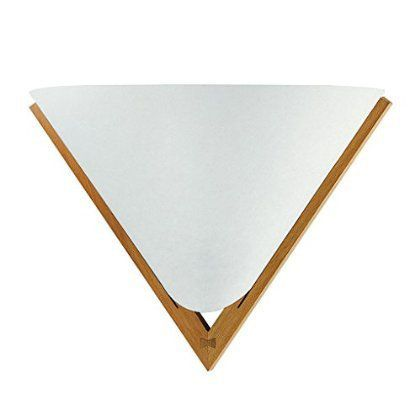 DOMUS 木製ブラケットライト DECO B   直線的なフレームラインのシンプル・コンパクトなデザインで、廊下・ホールなどの小空間におすすめです。