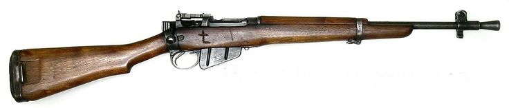"Jungle Carbine was an informal term used for the Rifle No. 5 Mk I[2] which was a derivative of the British Lee Enfield No. 4 Mk I, designed not for jungle fighting but in response to a requirement for a ""Shortened, Lightened"" version of the No.4 rifle for airborne forces in the European theatre of operations. The end of the war in Europe overtook widespread issue of the No.5 and most of the operational use of this rifle occurred in post-war colonial campaigns such as the Malayan emergency…"