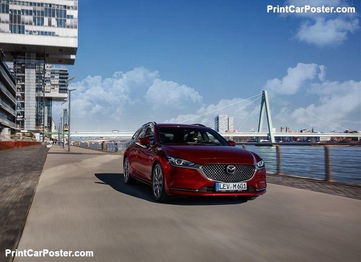 Mazda 6 Wagon [EU] 2019 poster, #poster, #mousepad, #tshirt, #printcarposter