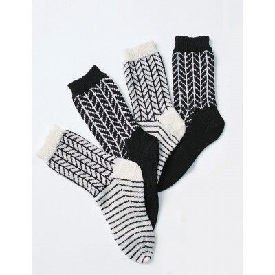 Free Intermediate Women's Socks Knit Pattern