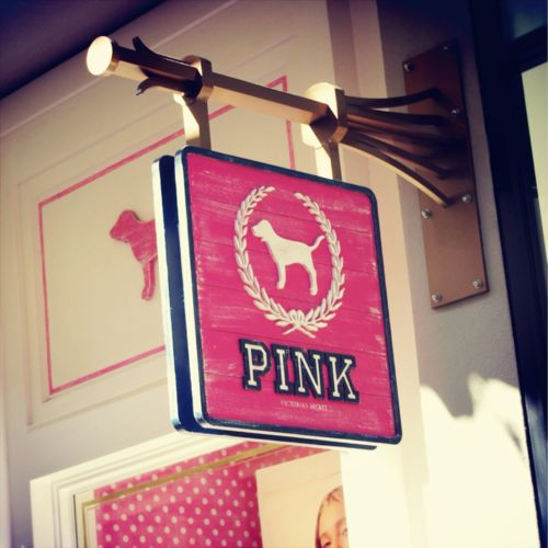 """ I See The Sign"" PINK!! <3"