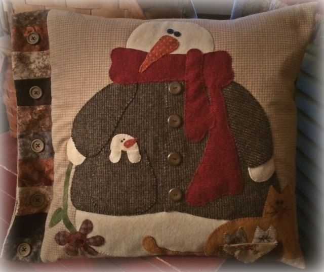 Chunks and Friends - Pattern by RusticCountry on Etsy & 197 best Wool Pillows images on Pinterest | Wool pillows Cushions ... pillowsntoast.com