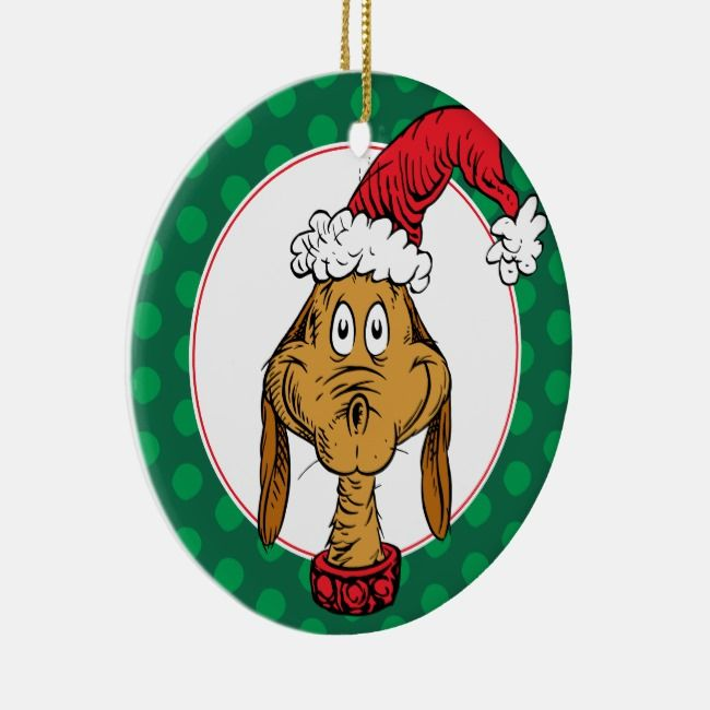 How The Grinch Stole Christmas 2020 Times How the Grinch Stole Christmas | Max is Nice Ceramic Ornament