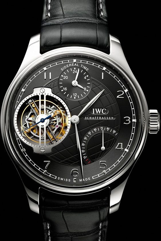 IWC Portuguese Siderale Scafusia. The shows a section of night sky, tailored to your location. Price: $ 1 million :)