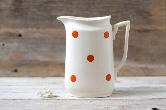 Vintage Norsk Flint Egersund Pottery Water by HouseofSeance, $80.00