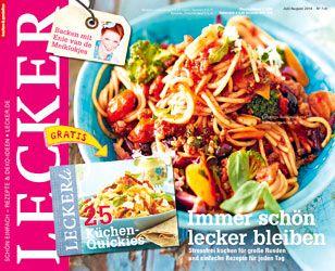 Lecker Zeitschrift Abo 64 besten lecker magazin bilder auf magazin lecker und