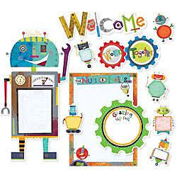 classroom robot decorations - Google Search