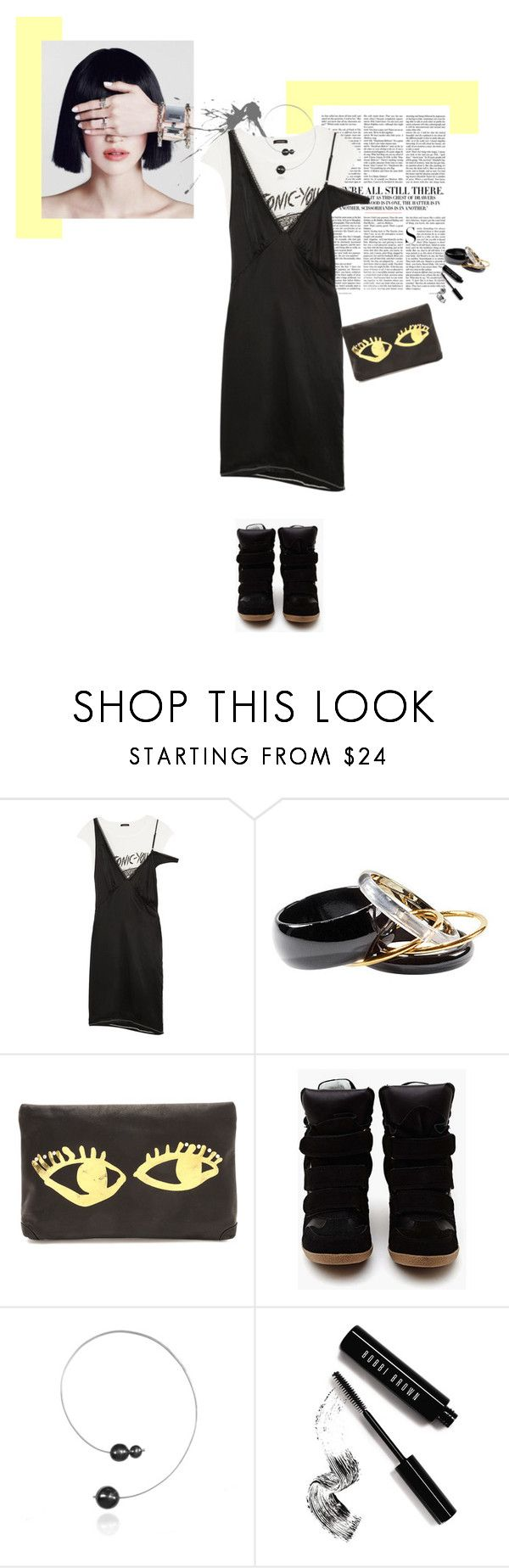 """Estate Casual"" by piccolauby ❤ liked on Polyvore featuring Vanity Fair, R13, H&M, Steve Madden and Bobbi Brown Cosmetics"