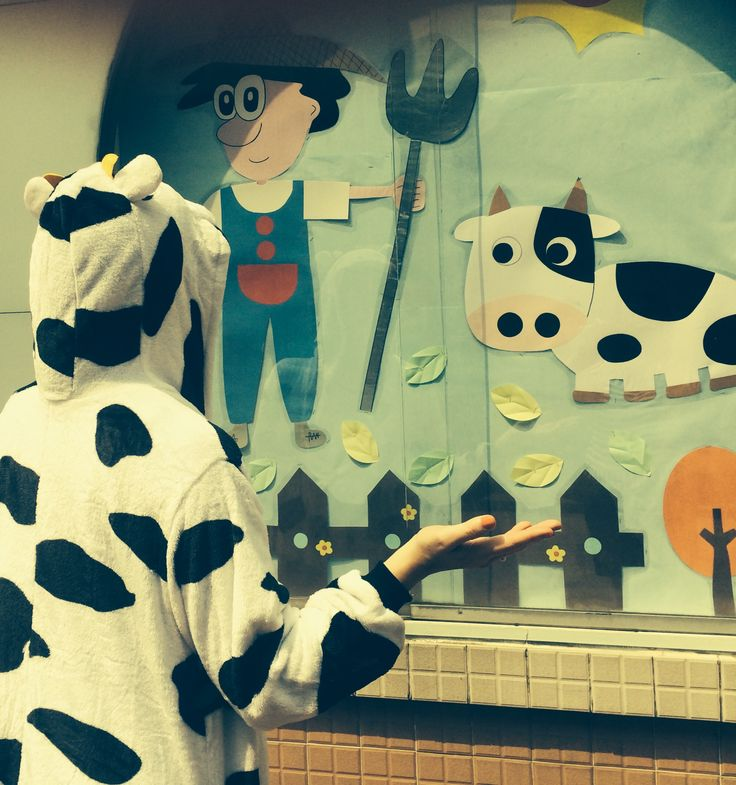 ANOTHER COW IN MACAU. Some artwork outside a school makes for great conversation.