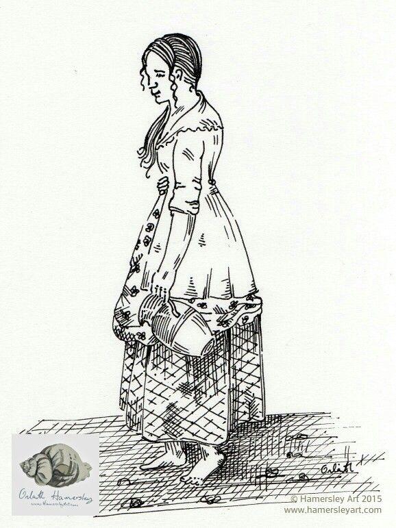 An Irish Peasant Girl https://ohamersley.wordpress.com/2015/01/31/an-irish-peasant-girl/