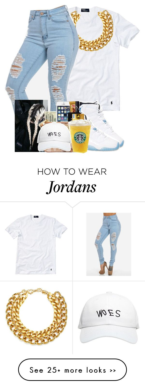 """""""Untitled #41"""" by rebelleisland on Polyvore featuring moda, Polo Ralph Lauren, A.V. Max e October's Very Own"""