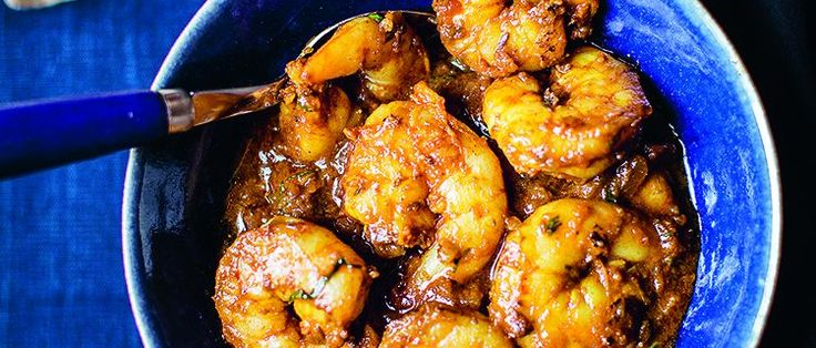This fabulous Indian prawn curry recipe is such a classic from Cyrus Todiwala made using loads of spices, tart tamarind and fresh coriander, .