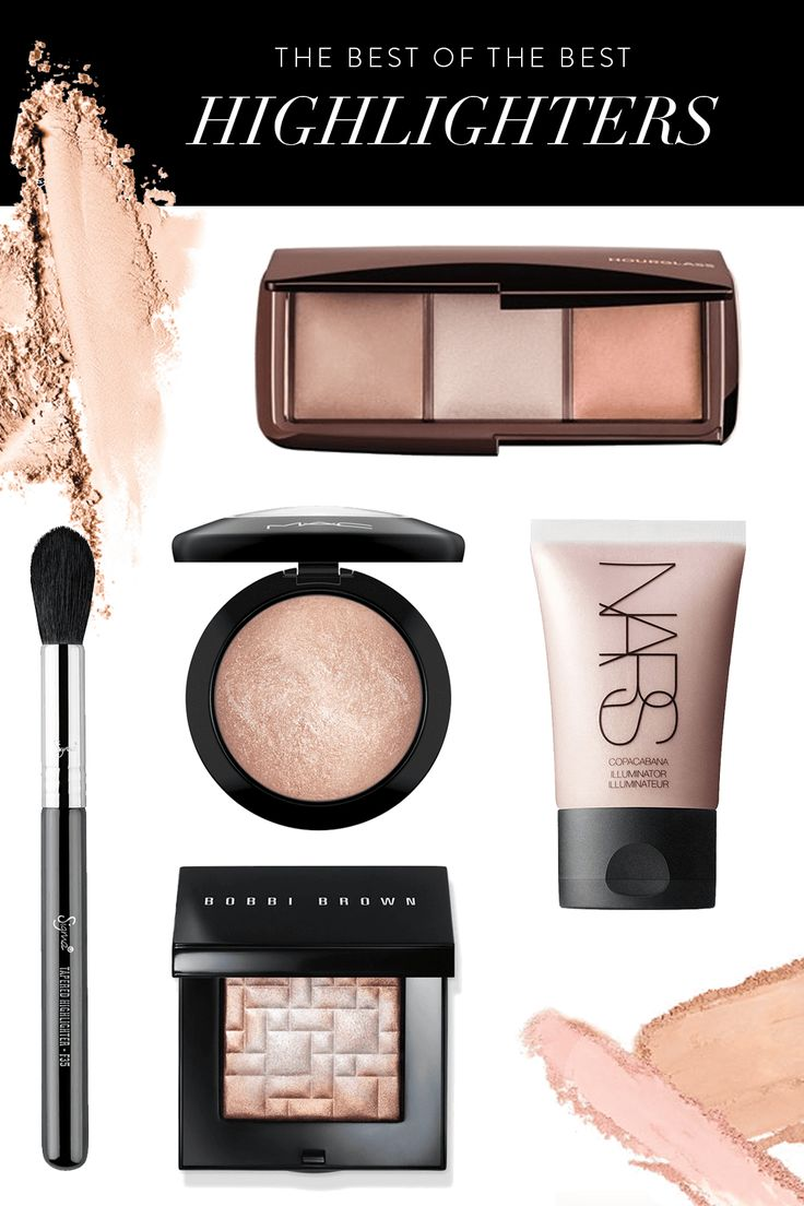 best of the best face highlighters for strobing
