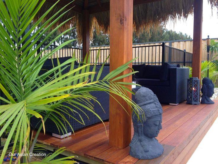 Balinese huts