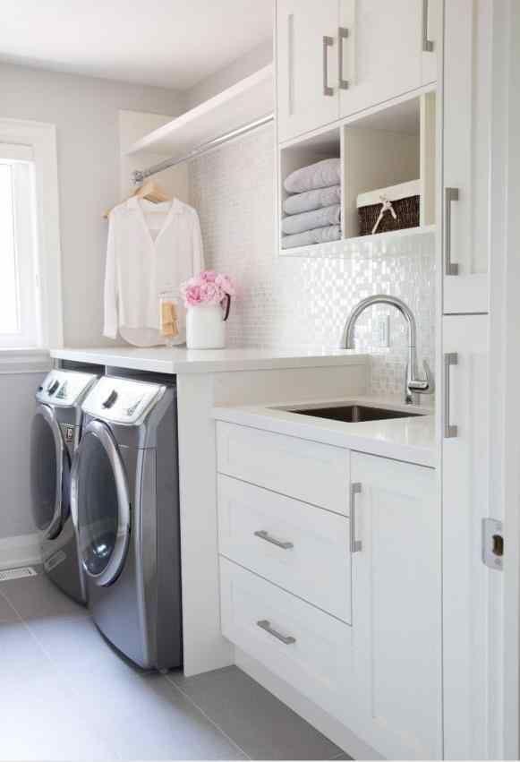 Laundry room design ideas the ium thinking shelf organization storage tips for small narrow laundry room design organization ideas storage tips for jpg