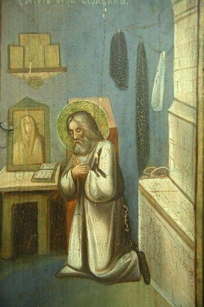 hermit brother: St. Seraphim of Sarov ICON