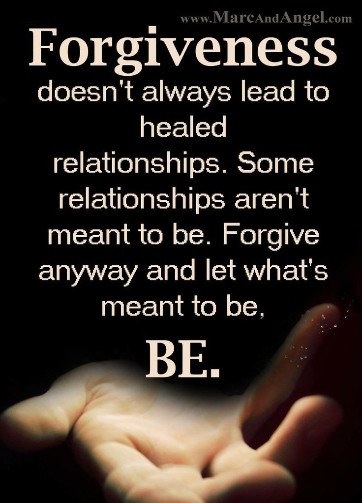 Forgiveness In A Relationship Of Love Is Essential
