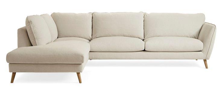 Produktbild - Madison Lux, 3-sits soffa med divan vänster