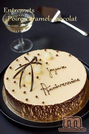 Cet entremets a été spécialement réalisé pour un anniversaire. Une belle occasion pour créer un gâteau, peut-être pas parfait, mais surtout...