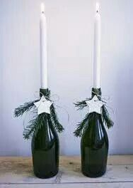 Kerst fles!