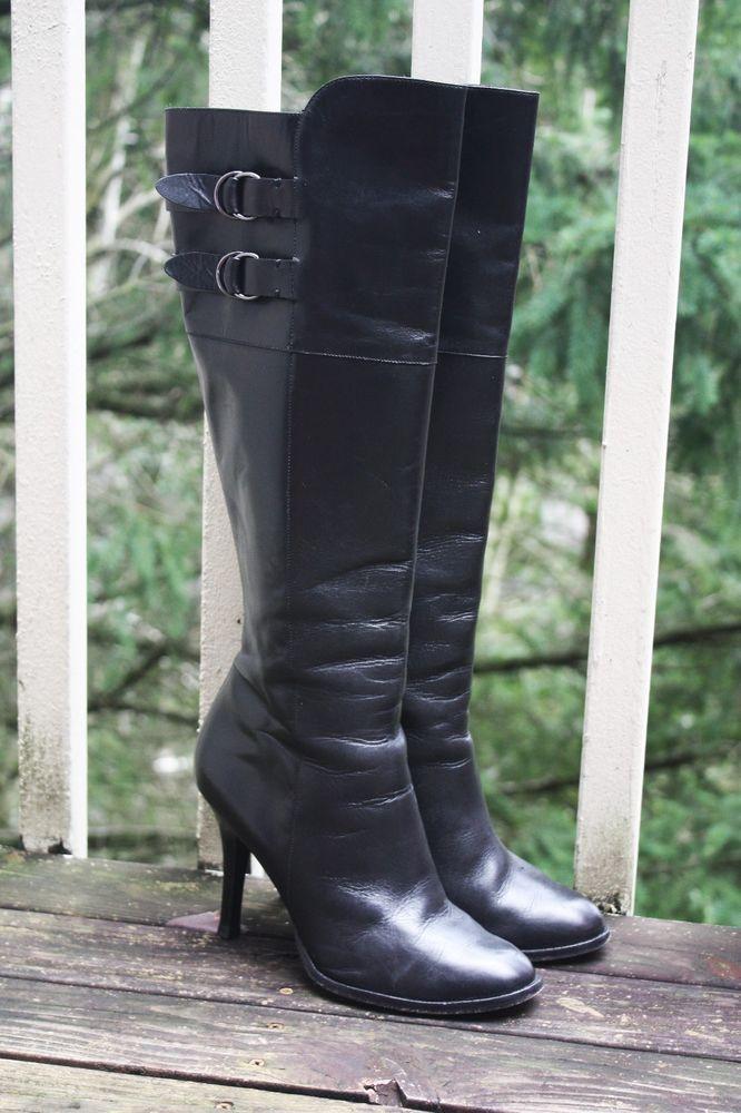 COLE HAAN AIR GEORGINA BOOTS 8.5 Black