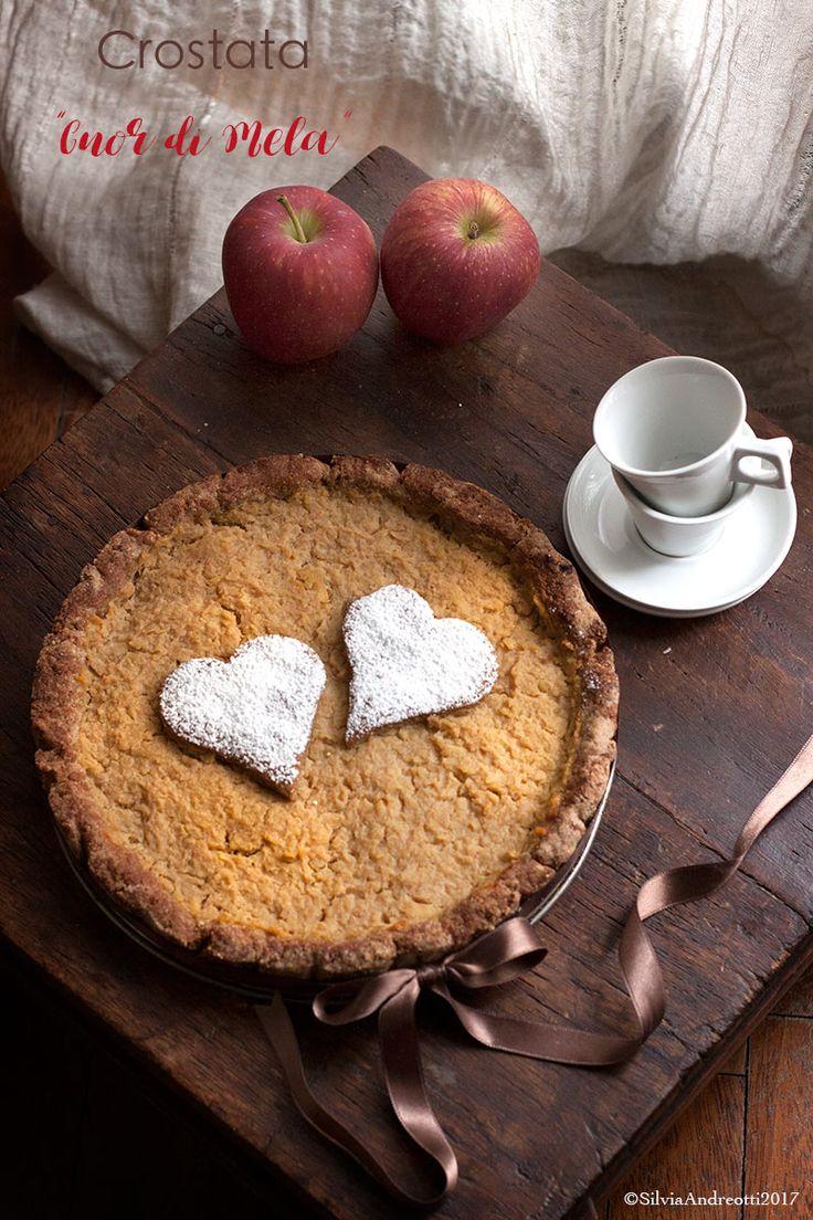 """Crostata alla mela """"Cuor di mela"""" #glutenfree"""