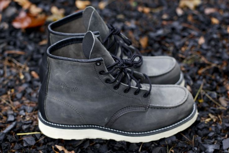 I know I posted these badboys earlier in the week, but today marks the release of the Red Wing x Ronnie Fieg 6″ Moc Toe Boot in Ash Grey. Pick yours up while they last at davidz.com or if in …