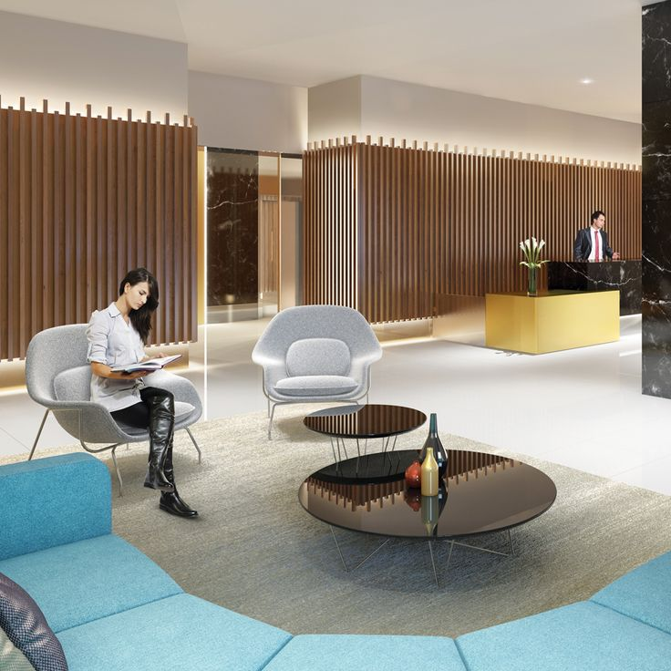 Stylish resident facilities at Southbank Central include a security and concierge services. #southbankcentral