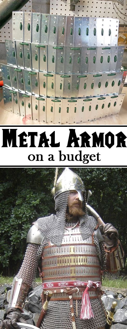 Make your own Lamellar armor.