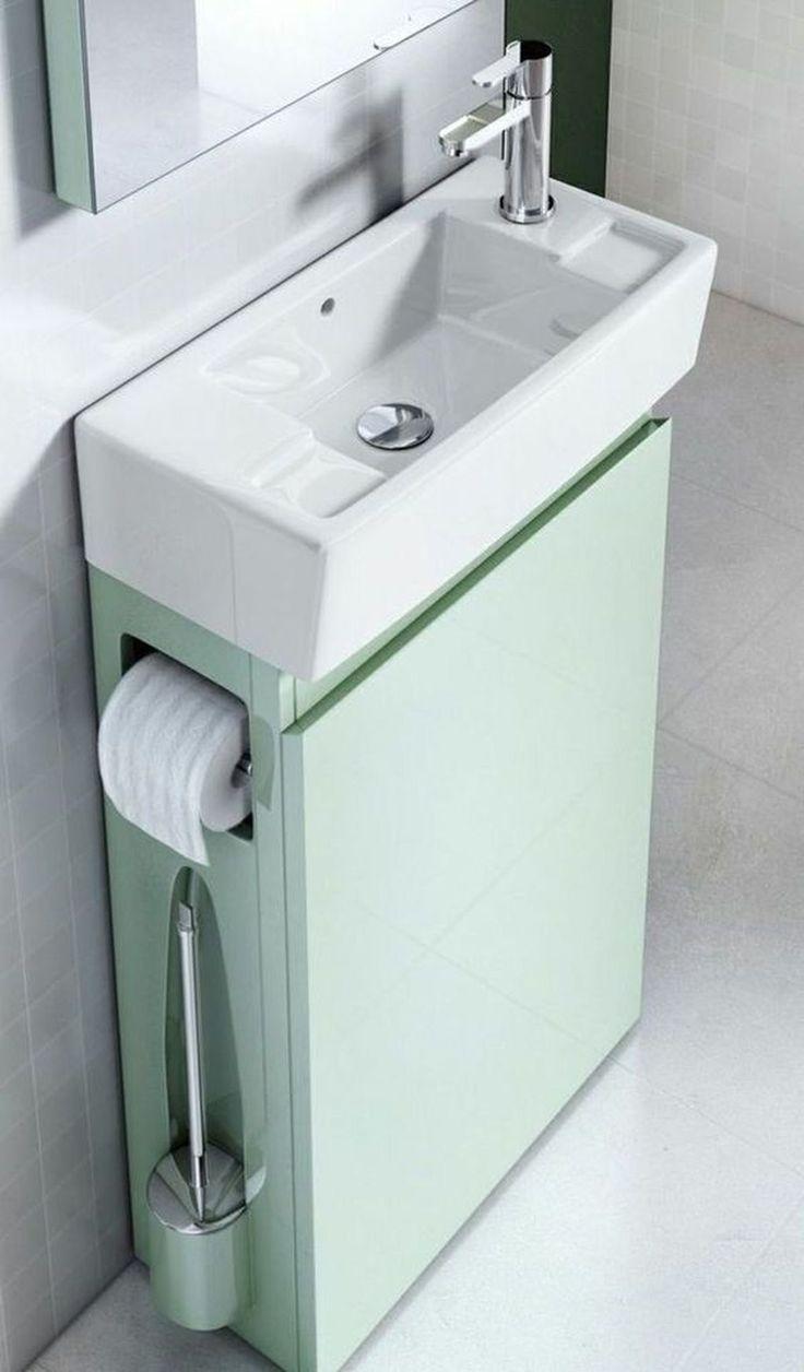 45 + Modern Small Bathroom Remodel Design Ideas #B…