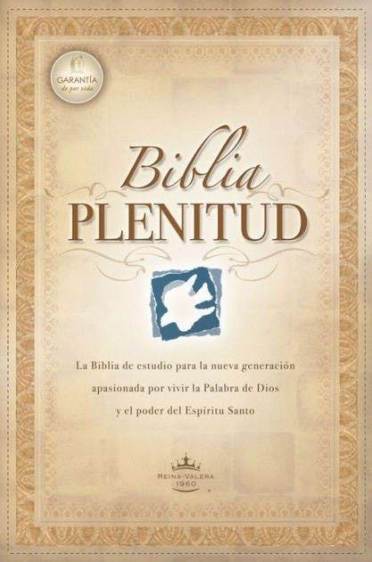 Biblia Plenitud RVR 1960 Tam. Manual, Enc. Rústica (RVR 1960 Spirit-Filled Life Bible Handy Size, Softcover)