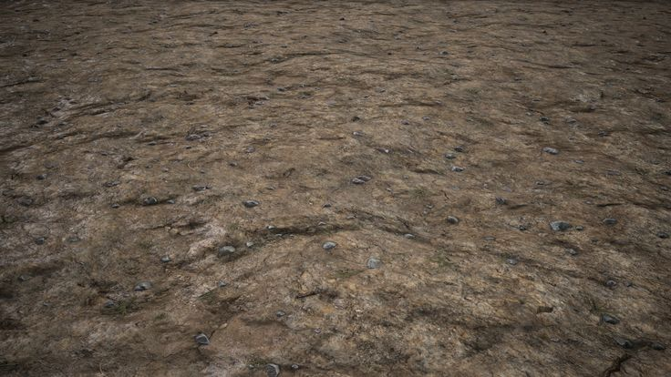 ArtStation - Ground Texture Mud/Rock (Quixel/Zbrush), Julien Herpoel