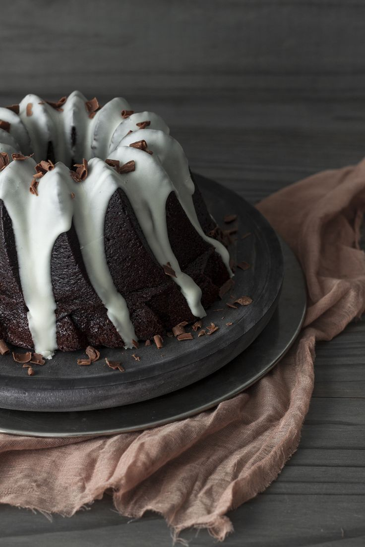 Bundt cake de chocolate y ron - Lost in Cupcakes