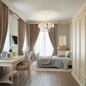taupe and cream bedroom