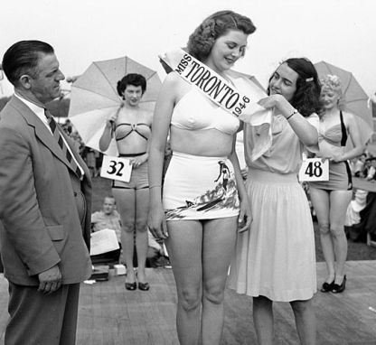 Miss Toronto! Vintage beauty pageant