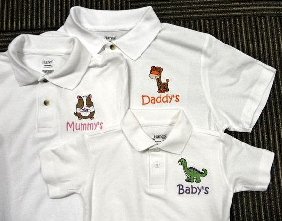 For the Animals Lover - Personalised Polo Shirt embroidery by ThatCornerShop. #personalisedgifts #birthdaygifts #giftsforhim #giftsforher #giftideas #embroidery