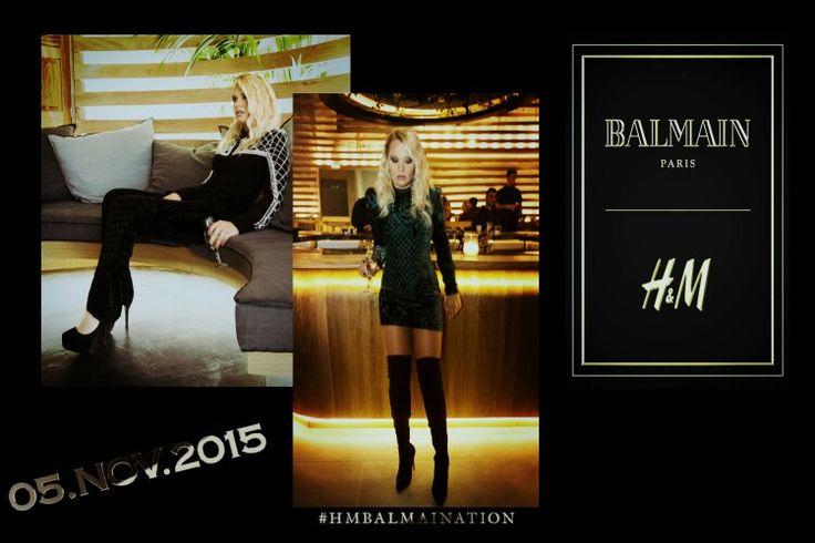 Balmain X H&M #HMBALNAINATION
