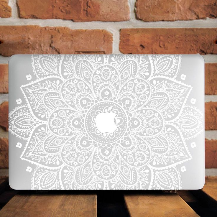 "White Mandala Hard Plastic Case Cover For Macbook Pro Retina Air 11""12""13""15"" in Computers/Tablets & Networking, Laptop & Desktop Accessories, Laptop Cases & Bags 