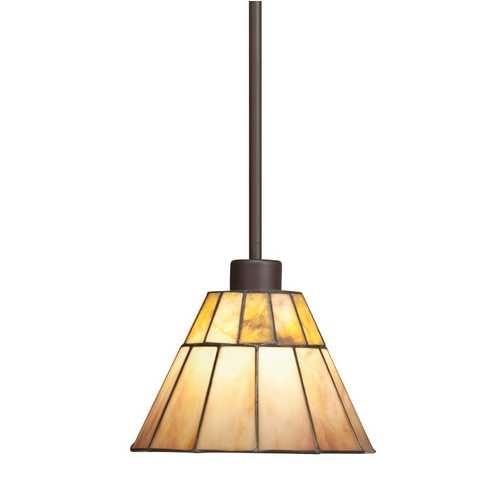 Kichler lighting kichler craftsman tiffany mini pendant light 65354 destination lighting