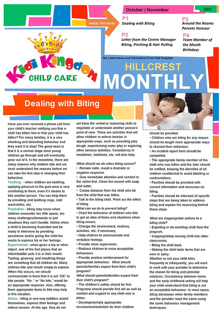 Welcome to the October / November Edition of Kidi Kingdom - Hillcrest News.  #Newsletter #ChildCare #Kindergarten #ChildrenFun #HappyChildren