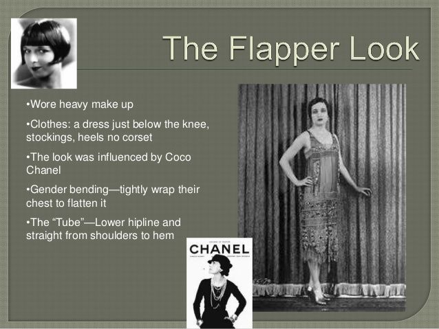 Flappers in the 1920's