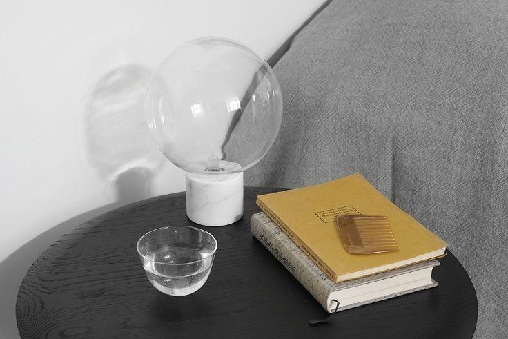 Marble Light Bordslampa SV6 av Studio Vit för &tradition #marmor #cararramarmor