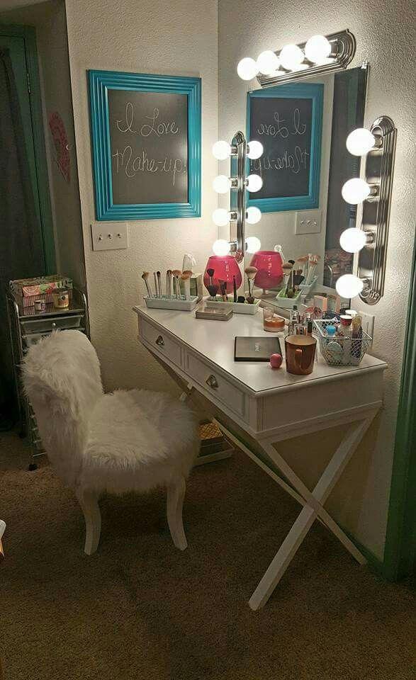 Pinterest  l i t l y r a a  Teen VanityBeauty RoomMakeup DeskMakeup  StorageGirl  Best 20  Teen vanity ideas on Pinterest   Diy dressing tables  . Vanity Girl Makeup Desk. Home Design Ideas
