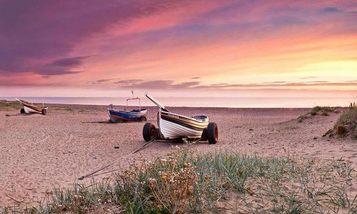 Sunrise at Marske by the sea