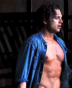 Not that Tumblr needed another SebStan blog... Sexy abs =D