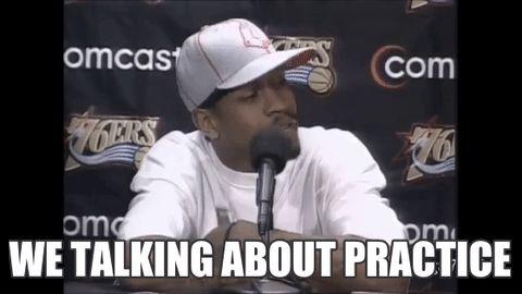"Allen Iverson ""Practice"" rant"